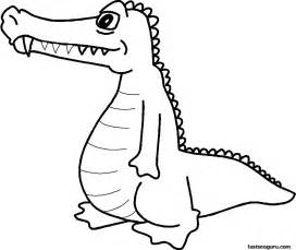 coloring pages to print out free coloring pages alligator print out pictures
