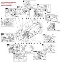 Mitsubishi Mirage Wiring Diagram Mitsubishi Mirage Space Attrage Wiring Harness And