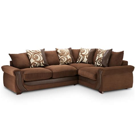 brown corner sofas evermore leather corner sofa next day delivery evermore