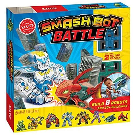 smash bot battle klutz 0545906482 klutz books castle toys
