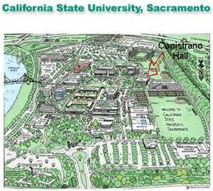 Sacramento State Map by Seminar With Del Fandrich From The Forest To The Concert