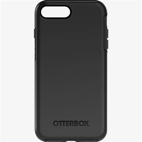 Otterbox Symmetry Series For Iphone 7 Plus Black otterbox symmetry series for iphone 8 plus 7 plus