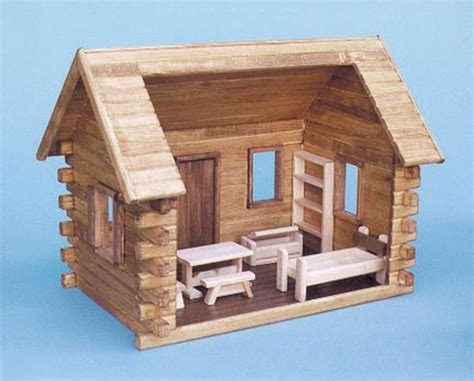x files dollhouse crockett s log cabin dollhouse kit the magical dollhouse