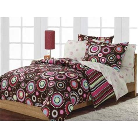 Pink And Brown Comforter by Polka Dots Comforter Sets