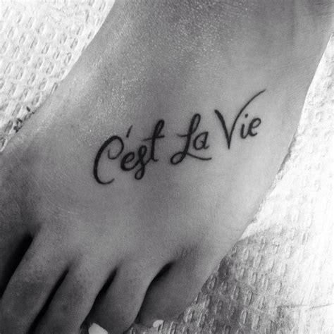 est tattoos c est la vie tattoos