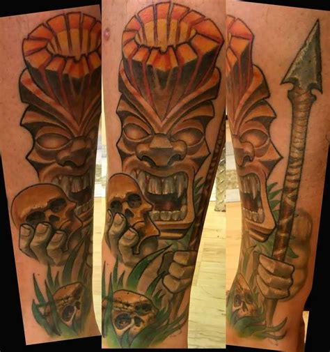 tiki man tattoo designs 12 cool tiki designs and ideas