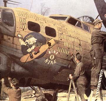 b 17 which has been very busy. | wwii and after plane nose