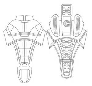 deathstroke armor template volpin props n7 armor con 2010 recap
