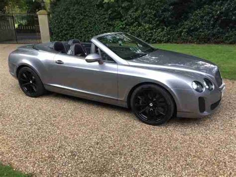 bentley supersport black bentley 2011 supersports gtc silver tempest with black
