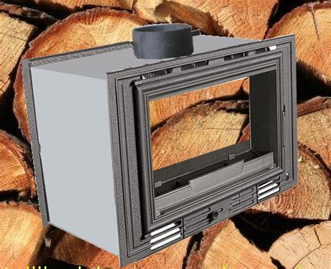 inserti camini legna inserto camino bifacciale a legna 70 g ventilato