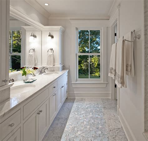 new bathroom floor southern home with neutral interiors home bunch
