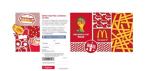 Mcdonalds Sweepstakes - coca cola mcdonald s soccer instant win game