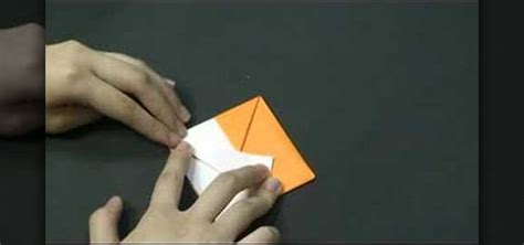 Origami Fox Mask - how to origami a fox puppet 171 origami