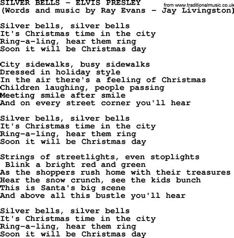 printable lyrics for silver bells arman info
