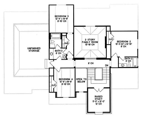 1905 sq ft the barrie house floor plan total kitchen house plan 120 1905 4 bedroom 3080 sq ft country