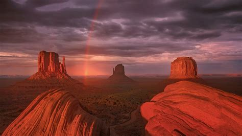 monument valley colorado plateau hd wallpaper