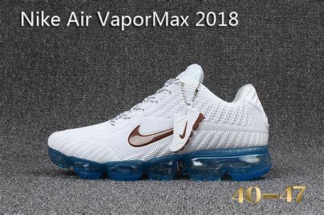 Nike Air Vapor Max 2018 mens nike air vapormax 2018 shoes white skyblue