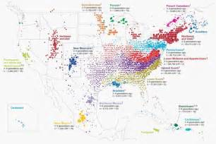 us map data visualization what 770 000 of saliva reveal about america