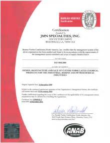 quality policy statement iso 9001 the chemical solution