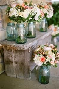 rustic jar centerpieces diy rustic wedding ideas