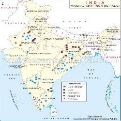 india mineral map