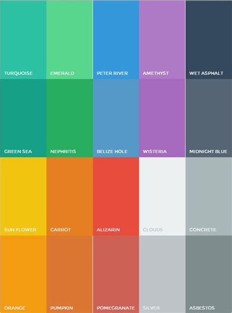 flat ui colors http flatuicolors design trend