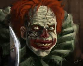 evil clown by eronzki999 on deviantart