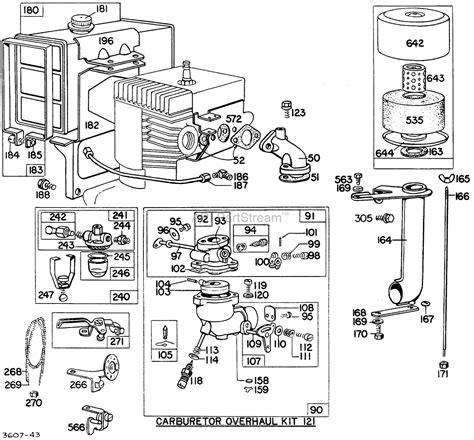 briggs and stratton 158cc carburetor diagram briggs 550 series parts diagram imageresizertool