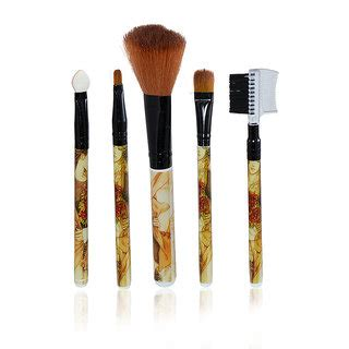 Kuas Make Up Brush 5 In 1 5in1 Toko Tessa imported make up brushes 5 in 1 buy imported make up brushes 5 in 1 at best prices