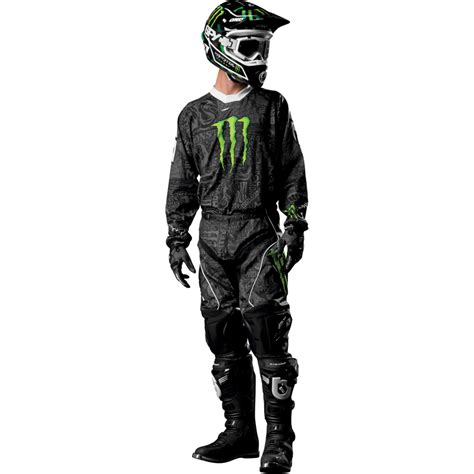 monster motocross jersey one industries carbon monster energy mx race motocross
