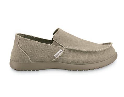 New Mens Crocs Santa Cruz Slip On Canvas Soft Extreme