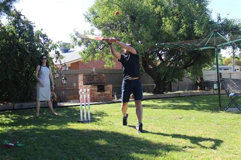 backyard cricket game an aussie tradition your pictures of backyard cricket on