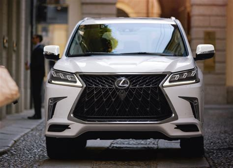 lexus lx  sport package adds  style
