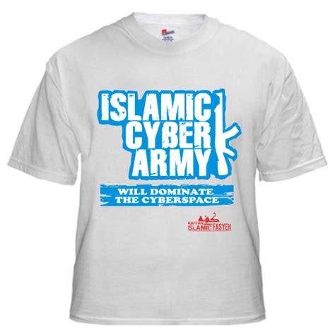 Islamic Artworks 65 Kaos Muslim Islami Oceanseven kaos it muslim kreatif islamic cyber army putih laa tahzan distro