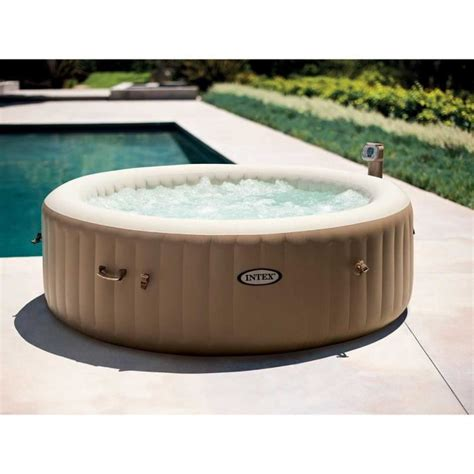 Intex Spa 6 Places 6390 by Spa Gonflable Intex Purespa Rond Bulles 6 Places Achat
