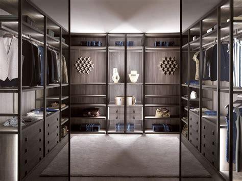 Wardrobe Showroom by Palo Alto Armario Vestidor En Madera Y Vidrio By Misuraemme