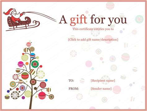 gift card template 25 unique gift certificate templates ideas on