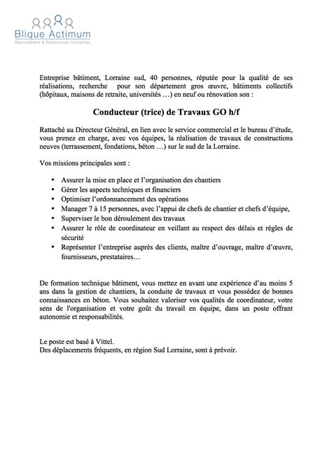 Lettre De Motivation Apb Genie Civil Doc Lettre De Motivation Chef De Chantier Genie Civil