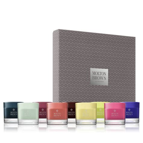 Candle Gift Sets Molton Brown 174 Luxury Mini Scented Candles Gift Set Shop