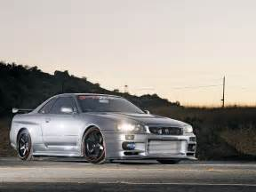 Nissan Skyline R34 Gtr Nissan Skyline R34 Gtr Rb26 Motor Turbo High Tech