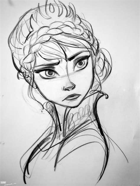 doodle sketch frozen frozen elsa concept by jin lovely just absolute