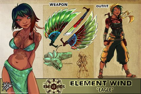 element wind eagle by elementjax on deviantart