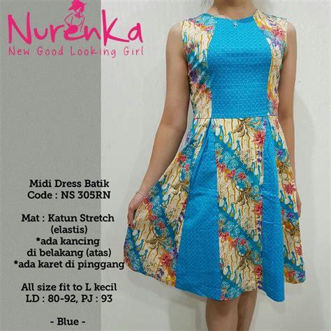 jual baju batik wanita batik modern dress batik