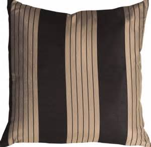 pillow decor contemporary stripes in black and beige