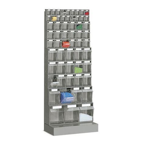scaffali componibili in plastica cassettiere metalliche da muro in metallo castellani shop