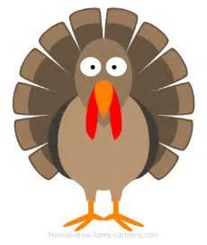 thanksgiving cartoon image drawing a turkey cartoon