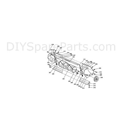 qualcast classic 35s f016l80594 parts diagram page 2