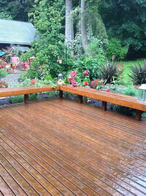 cedar deck bench best 25 deck bench seating ideas on pinterest deck 3