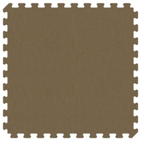 Groovy Mats by Groovy Mats Brown And Reversible 24 In X 24 In