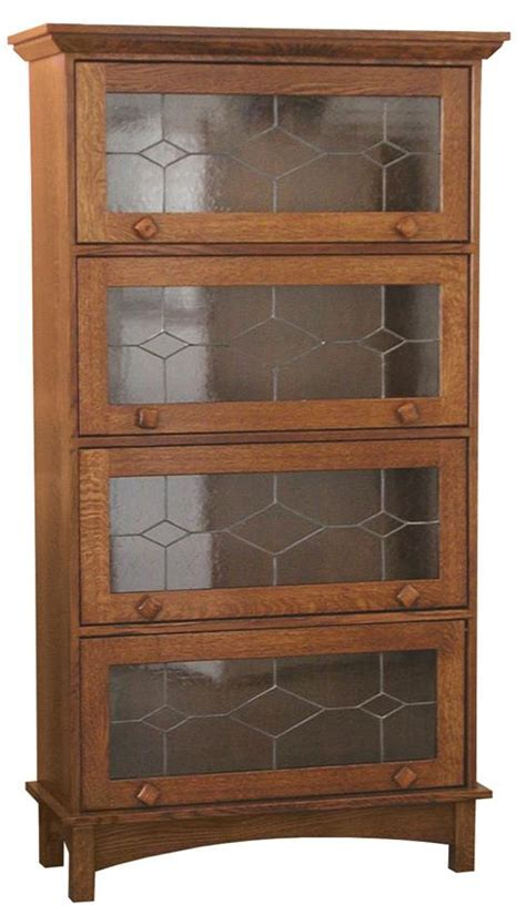 mission bookcase with doors mission barrister bookcase